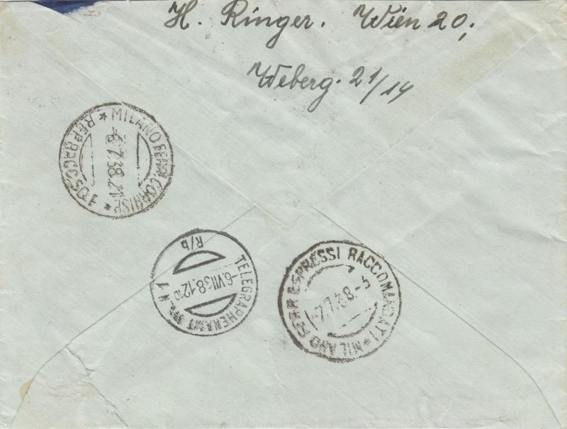 Österreich im III. Reich (Ostmark) Belege - Seite 2 Dr-52811