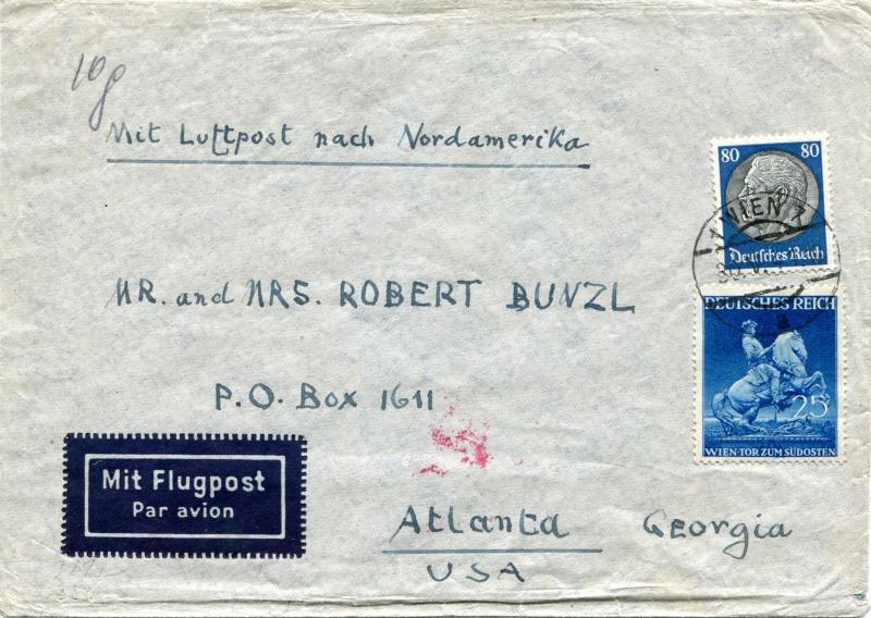 Österreich im III. Reich (Ostmark) Belege - Seite 2 Dr-77110