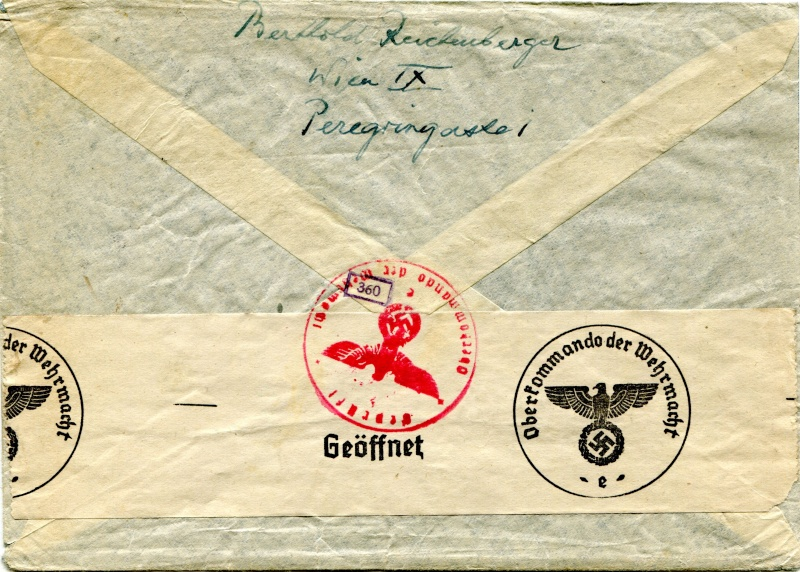Österreich im III. Reich (Ostmark) Belege - Seite 2 Dr-77111