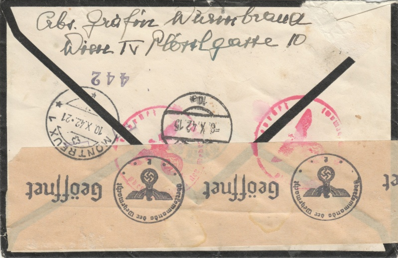 Österreich im III. Reich (Ostmark) Belege - Seite 2 Dr-78411