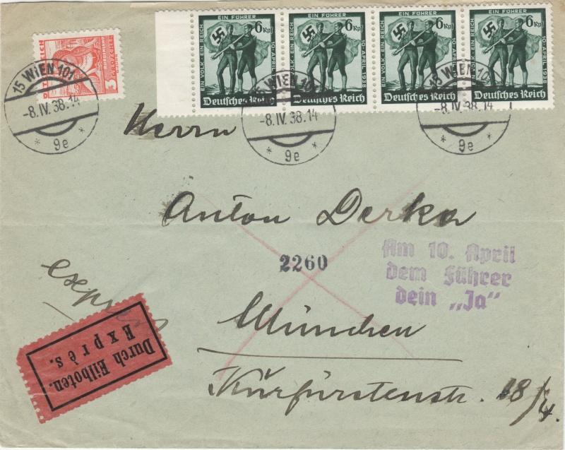 Österreich im III. Reich (Ostmark) Belege - Seite 2 Dr-fdc10