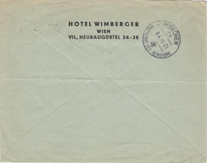 Österreich im III. Reich (Ostmark) Belege - Seite 2 Dr-fdc11