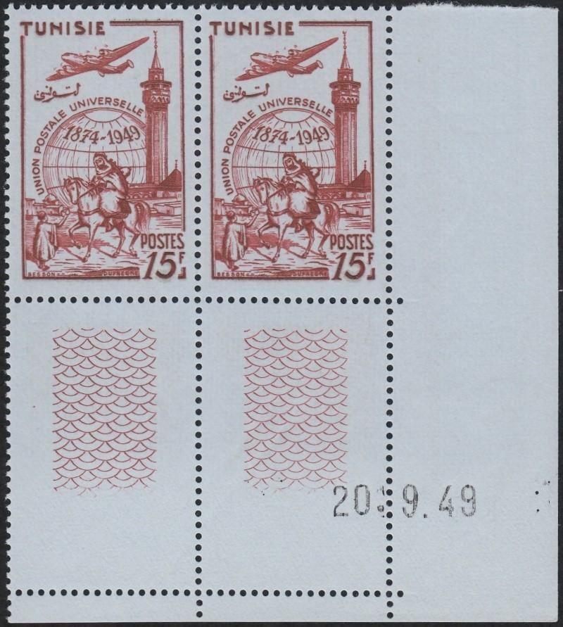 ungarn - 75 Jahre Weltpostverein - Seite 2 Tunesi11