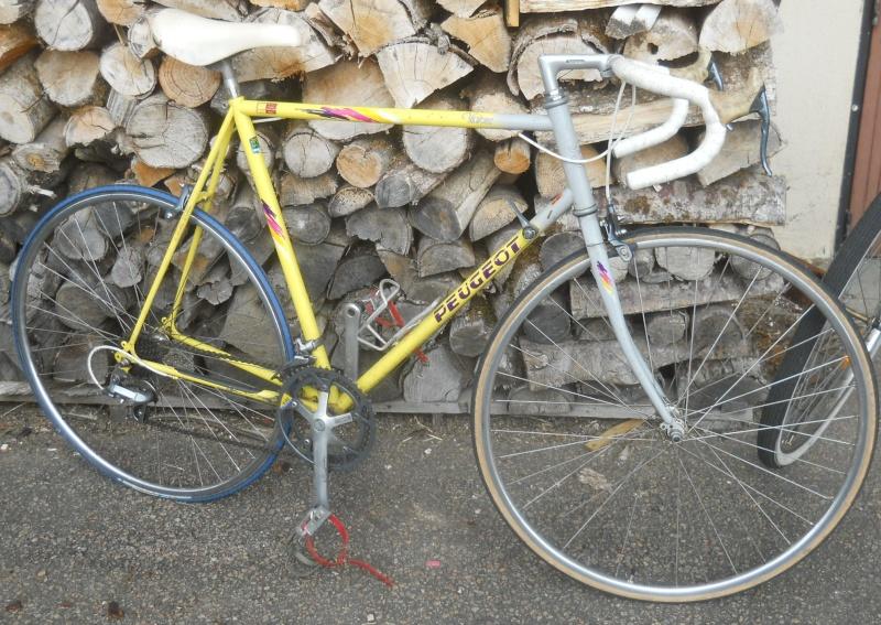 Peugeot Cadre Reynolds 753 de 1988  2012-014