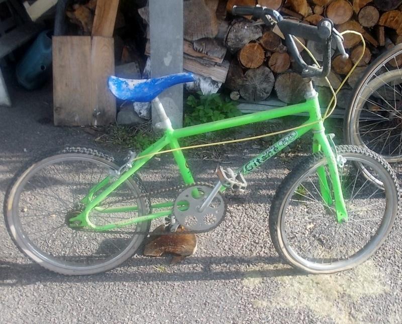 BMX GITANE  vert fluo  2014-758