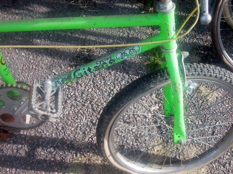 BMX GITANE  vert fluo  2014-759