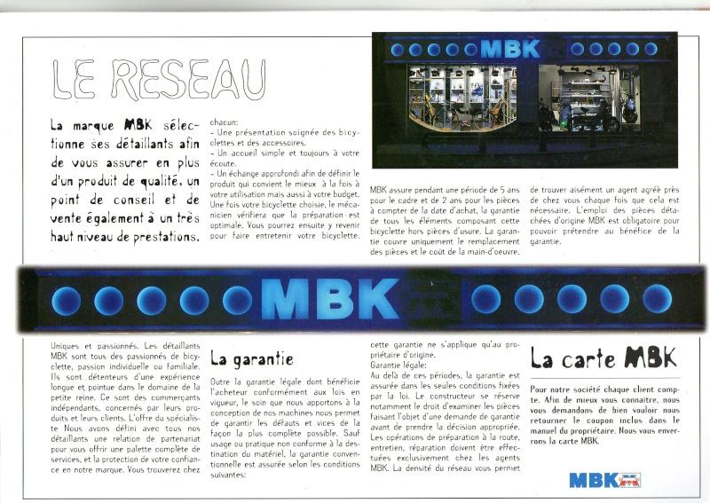 catalogue  MBK 1995  , toute la gamme ! Catalo12