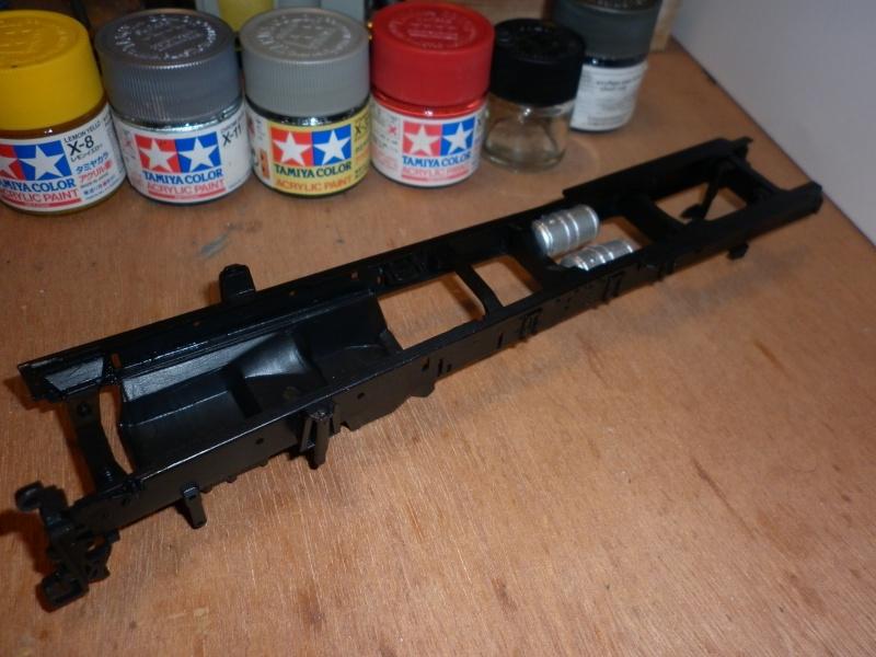 Maquette Camion SCANIA Imperial R730 V8la semi remorque Dussol père et fils de chez italeri au 1/24  P1000424