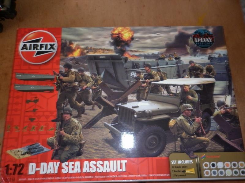 Airfix coffert sea assault d-day au 1/72 P1000911