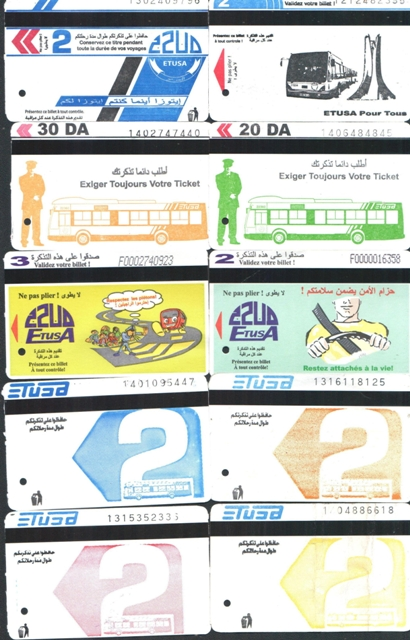 tickets de Bus Bus_110