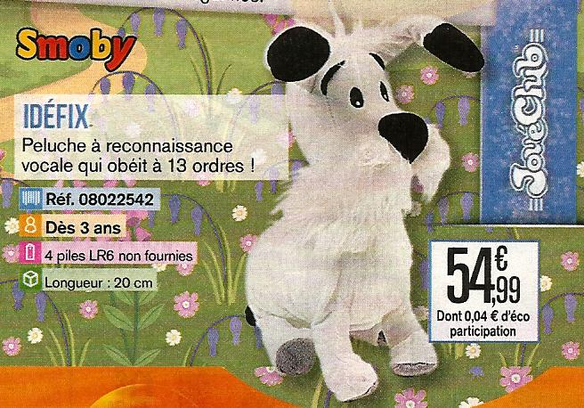 Peluche Smoby interactive A_116
