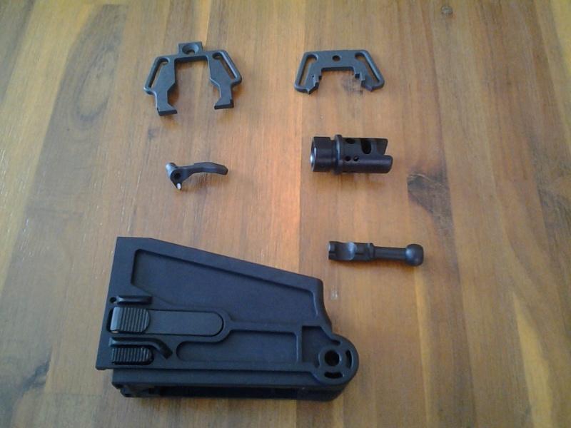 Modularité du CZ Bren 805. Kit Upgrade 20140711