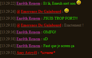 Screens de la CB Eeeee10