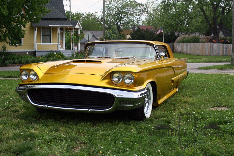 Ford Thunderbird 1958 - 1960 custom & mild custom 00210