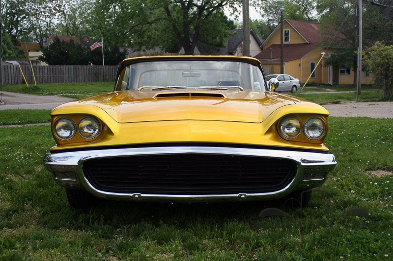 Ford Thunderbird 1958 - 1960 custom & mild custom 00310