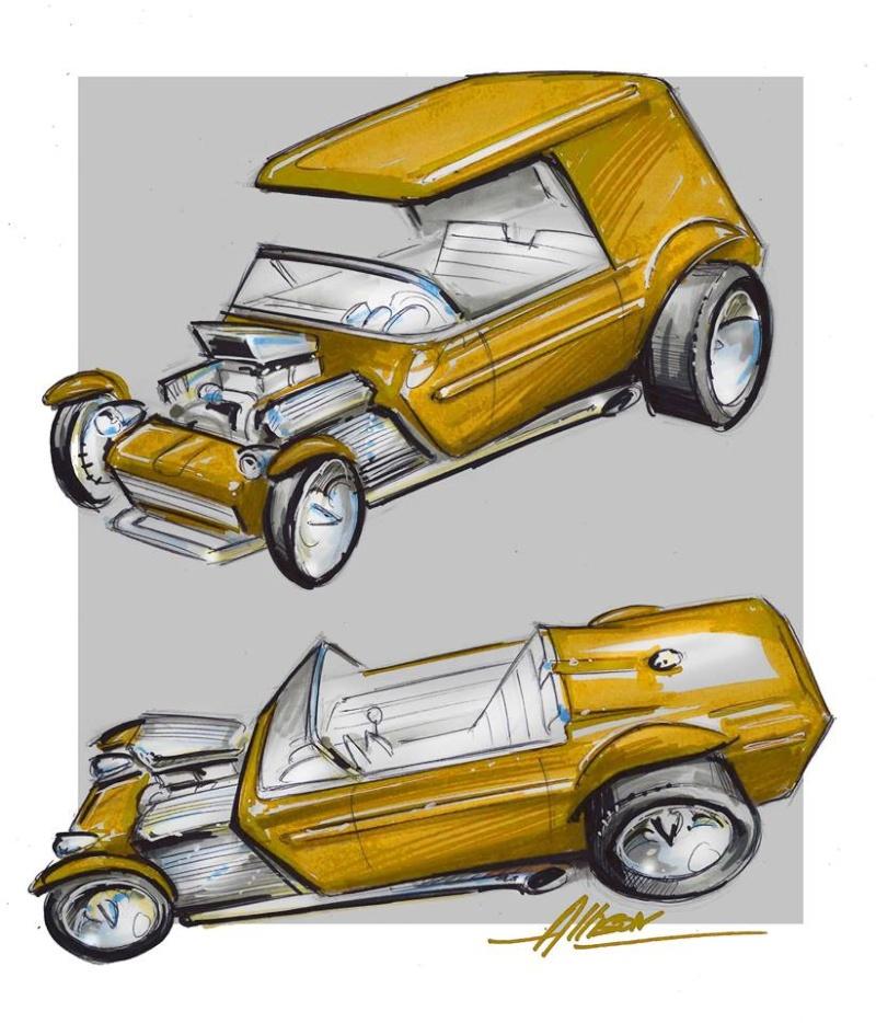 Jeff Allison - designer hot wheels and illustrations 0162
