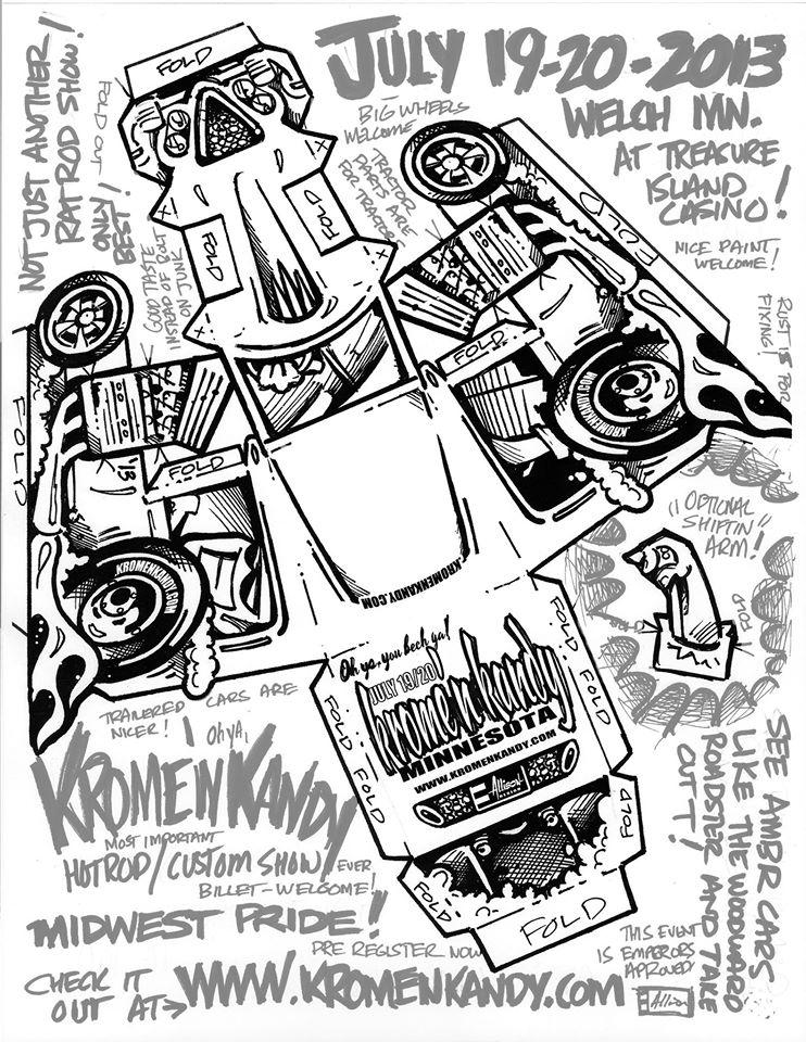 Jeff Allison - designer hot wheels and illustrations 0165