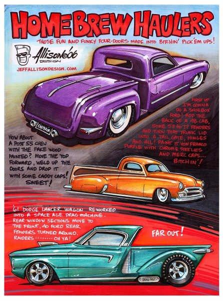 Jeff Allison - designer hot wheels and illustrations 0171