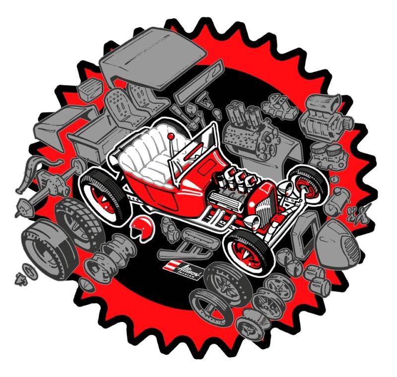 Jeff Allison - designer hot wheels and illustrations 0174