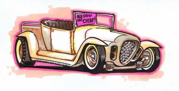 Jeff Allison - designer hot wheels and illustrations 0177