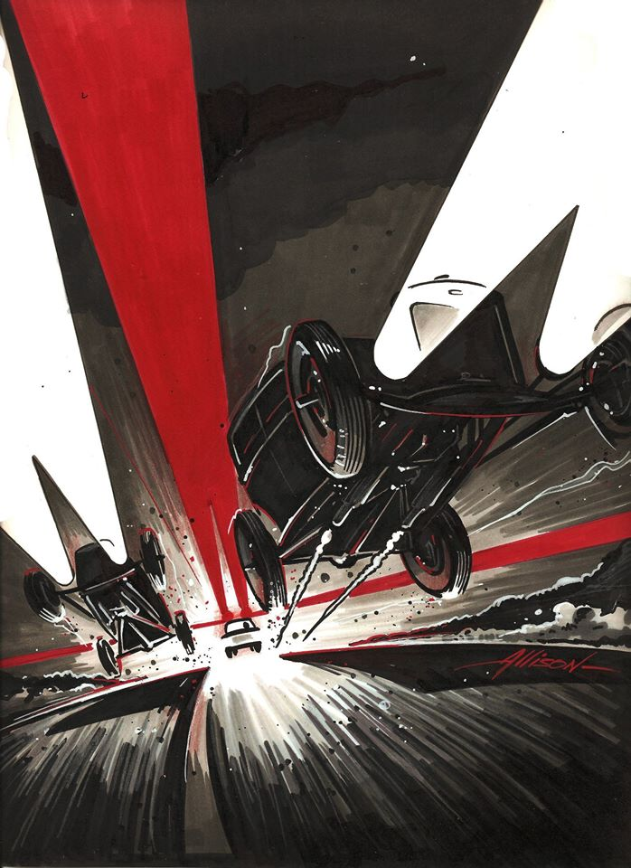 Jeff Allison - designer hot wheels and illustrations 0178