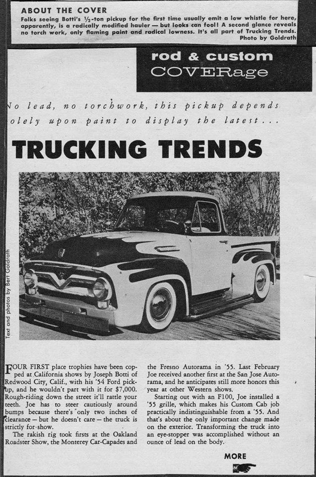 Ford Pick Up 1953 - 1956 custom & mild custom - Page 2 0238