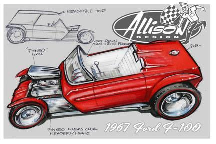 Jeff Allison - designer hot wheels and illustrations 0262