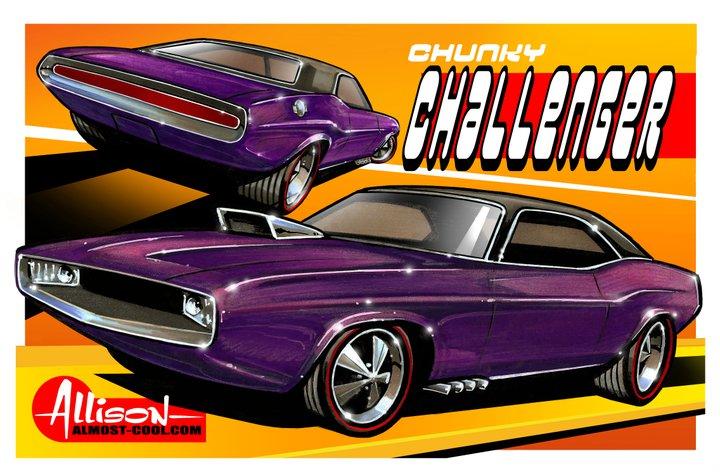 Jeff Allison - designer hot wheels and illustrations 0266