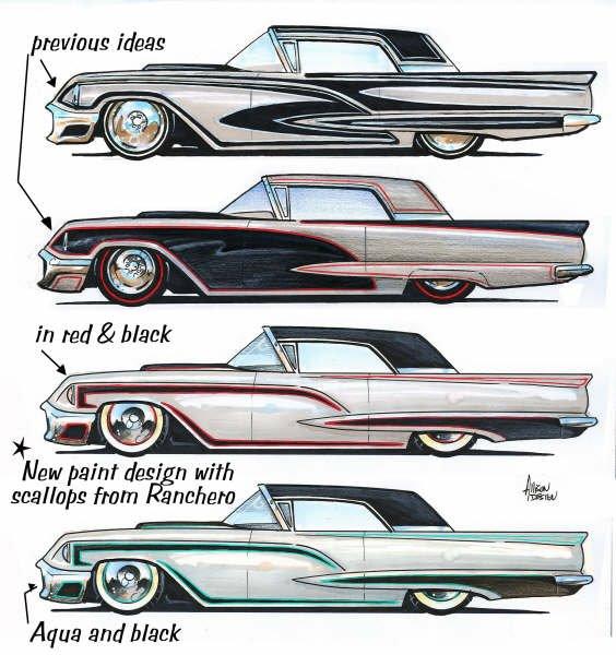 Jeff Allison - designer hot wheels and illustrations 0271