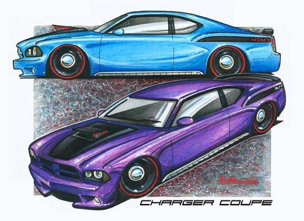 Jeff Allison - designer hot wheels and illustrations 0277