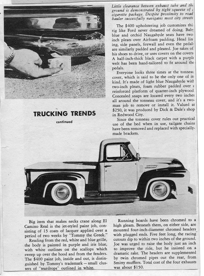 Ford Pick Up 1953 - 1956 custom & mild custom - Page 2 0336