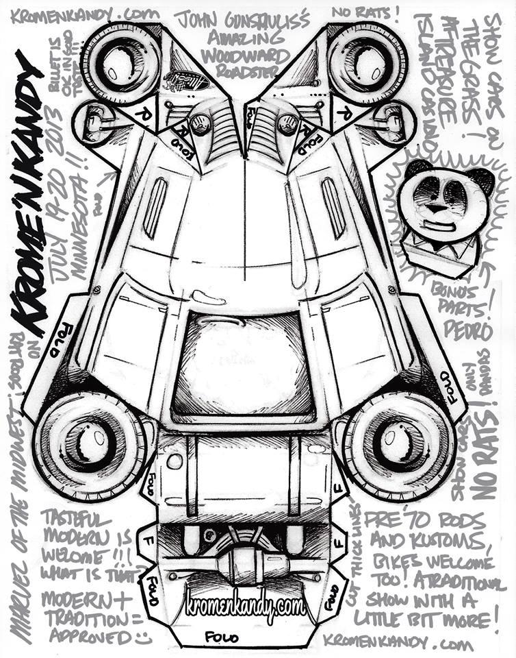 Jeff Allison - designer hot wheels and illustrations 0358