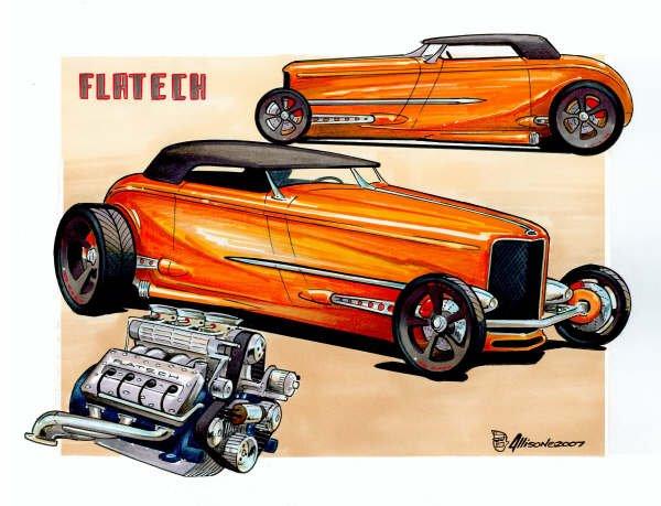 Jeff Allison - designer hot wheels and illustrations 0359