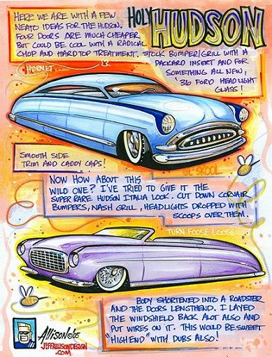 Jeff Allison - designer hot wheels and illustrations 0364