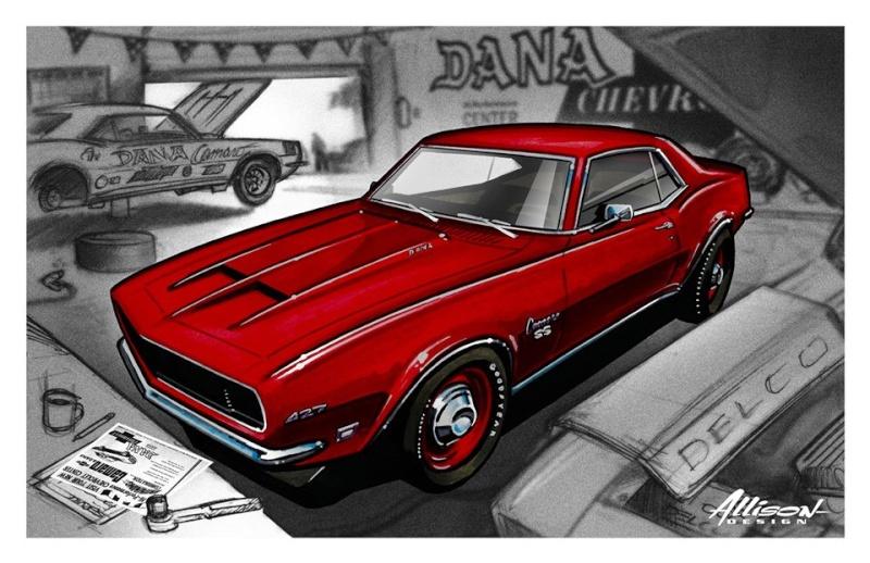 Jeff Allison - designer hot wheels and illustrations 0371