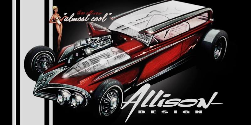 Jeff Allison - designer hot wheels and illustrations 0449