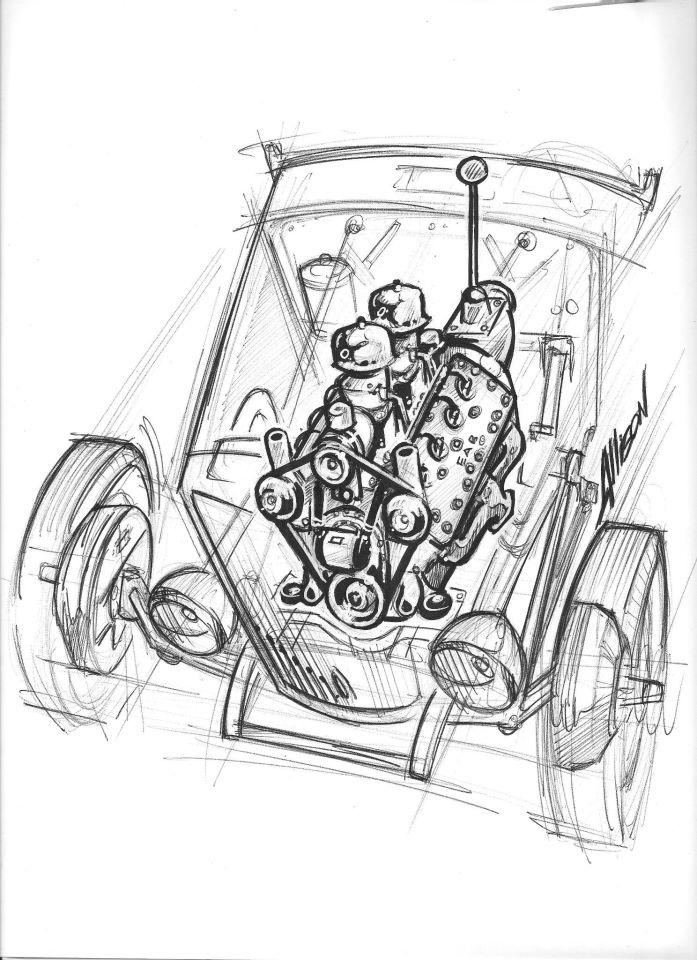Jeff Allison - designer hot wheels and illustrations 0450