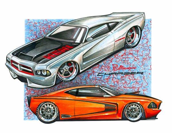 Jeff Allison - designer hot wheels and illustrations 0453
