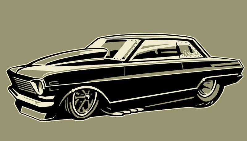 Jeff Allison - designer hot wheels and illustrations 0455
