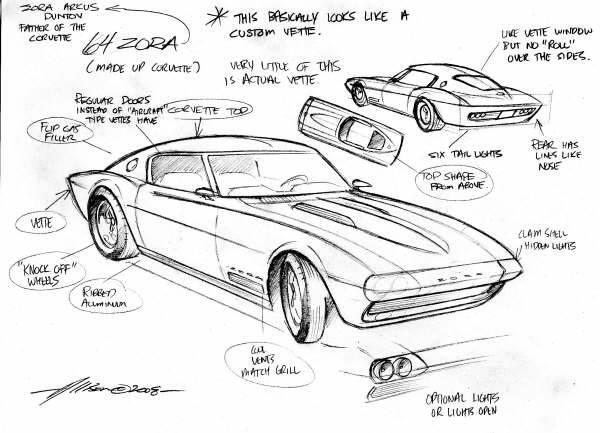 Jeff Allison - designer hot wheels and illustrations 0458