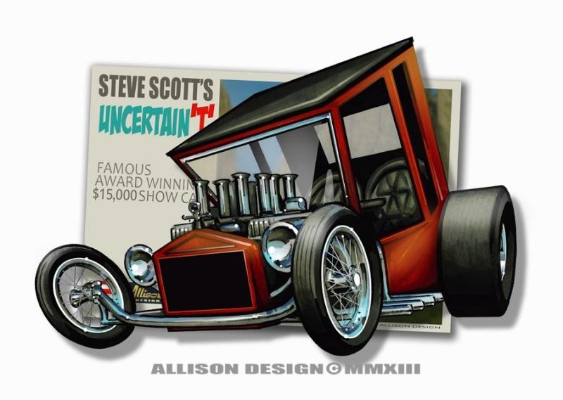 Jeff Allison - designer hot wheels and illustrations 0459