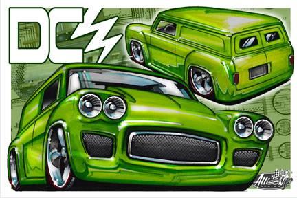 Jeff Allison - designer hot wheels and illustrations 0464