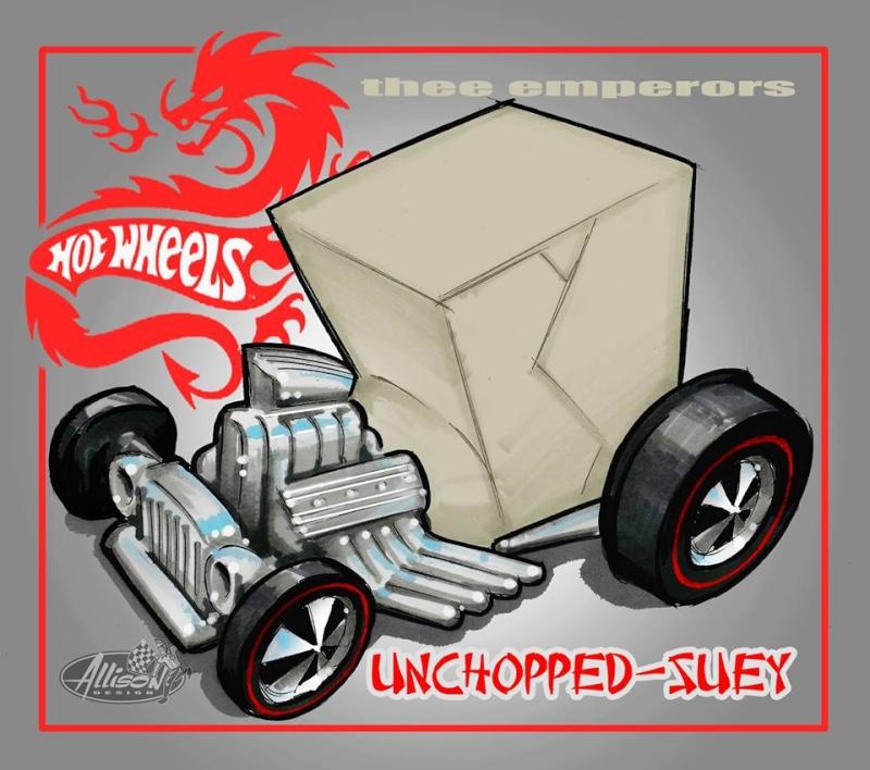 Jeff Allison - designer hot wheels and illustrations 0548