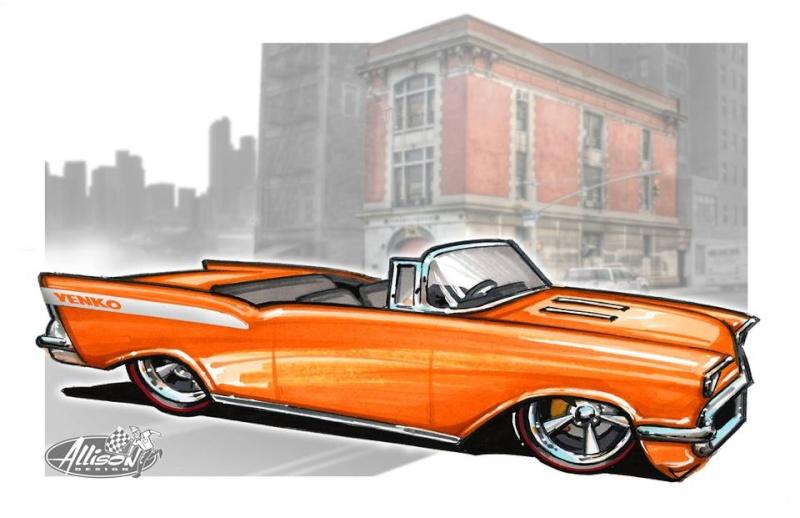 Jeff Allison - designer hot wheels and illustrations 0549