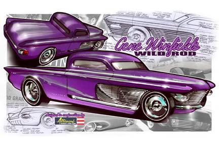 Jeff Allison - designer hot wheels and illustrations 0550