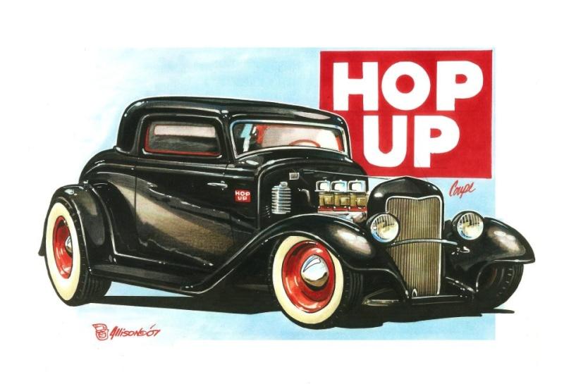 Jeff Allison - designer hot wheels and illustrations 0552