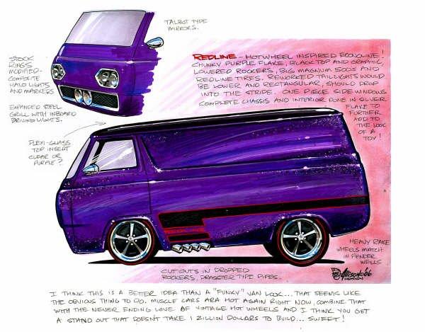 Jeff Allison - designer hot wheels and illustrations 0554