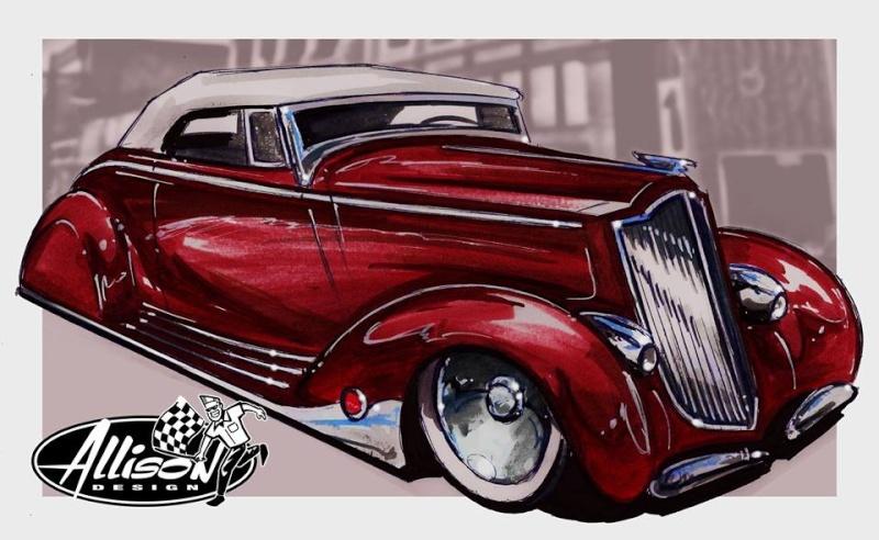 Jeff Allison - designer hot wheels and illustrations 0560