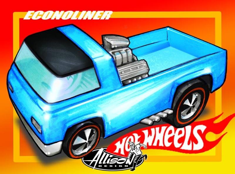 Jeff Allison - designer hot wheels and illustrations 0645