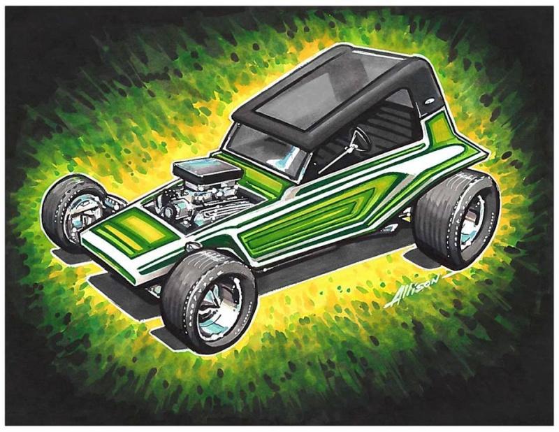 Jeff Allison - designer hot wheels and illustrations 0646
